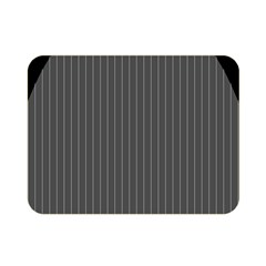 Space Line Grey Black Double Sided Flano Blanket (mini)