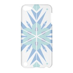 Snowflakes Star Blue Triangle Apple Ipod Touch 5 Hardshell Case