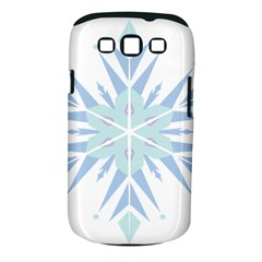 Snowflakes Star Blue Triangle Samsung Galaxy S Iii Classic Hardshell Case (pc+silicone)