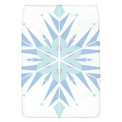 Snowflakes Star Blue Triangle Flap Covers (s)