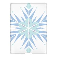 Snowflakes Star Blue Triangle Samsung Galaxy Tab S (10 5 ) Hardshell Case