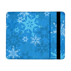 Snowflakes Cool Blue Star Samsung Galaxy Tab Pro 8 4  Flip Case