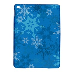 Snowflakes Cool Blue Star Ipad Air 2 Hardshell Cases
