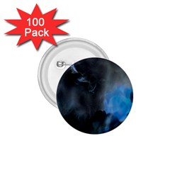 Space Star Blue Sky 1 75  Buttons (100 Pack)