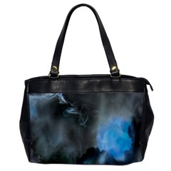 Space Star Blue Sky Office Handbags (2 Sides)