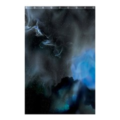 Space Star Blue Sky Shower Curtain 48  X 72  (small)