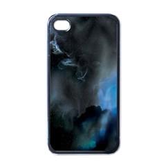 Space Star Blue Sky Apple Iphone 4 Case (black)
