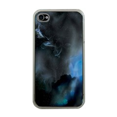 Space Star Blue Sky Apple Iphone 4 Case (clear)