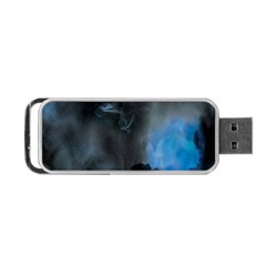 Space Star Blue Sky Portable Usb Flash (one Side)