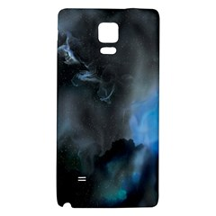 Space Star Blue Sky Galaxy Note 4 Back Case