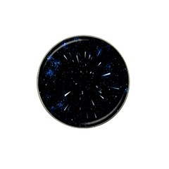 Space Warp Speed Hyperspace Through Starfield Nebula Space Star Line Light Hole Hat Clip Ball Marker (10 Pack)