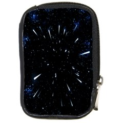 Space Warp Speed Hyperspace Through Starfield Nebula Space Star Line Light Hole Compact Camera Cases