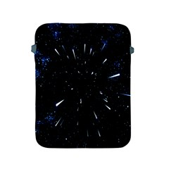 Space Warp Speed Hyperspace Through Starfield Nebula Space Star Line Light Hole Apple Ipad 2/3/4 Protective Soft Cases