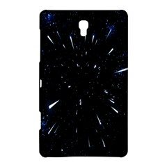Space Warp Speed Hyperspace Through Starfield Nebula Space Star Line Light Hole Samsung Galaxy Tab S (8 4 ) Hardshell Case