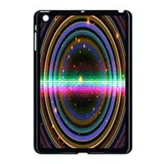 Spectrum Space Line Rainbow Hole Apple Ipad Mini Case (black)