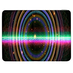 Spectrum Space Line Rainbow Hole Samsung Galaxy Tab 7  P1000 Flip Case