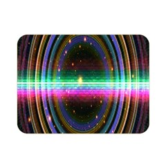 Spectrum Space Line Rainbow Hole Double Sided Flano Blanket (mini)