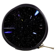 Space Warp Speed Hyperspace Through Starfield Nebula Space Star Hole Galaxy Mini Makeup Bags