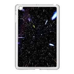 Space Warp Speed Hyperspace Through Starfield Nebula Space Star Hole Galaxy Apple Ipad Mini Case (white)