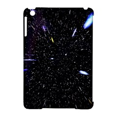 Space Warp Speed Hyperspace Through Starfield Nebula Space Star Hole Galaxy Apple Ipad Mini Hardshell Case (compatible With Smart Cover)