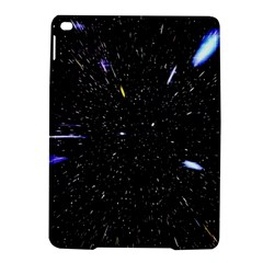 Space Warp Speed Hyperspace Through Starfield Nebula Space Star Hole Galaxy Ipad Air 2 Hardshell Cases