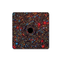 Space Star Light Black Hole Square Magnet