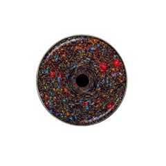 Space Star Light Black Hole Hat Clip Ball Marker (4 Pack)