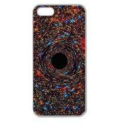 Space Star Light Black Hole Apple Seamless Iphone 5 Case (clear)