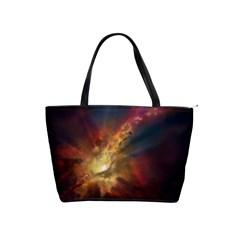 Sun Light Galaxy Shoulder Handbags
