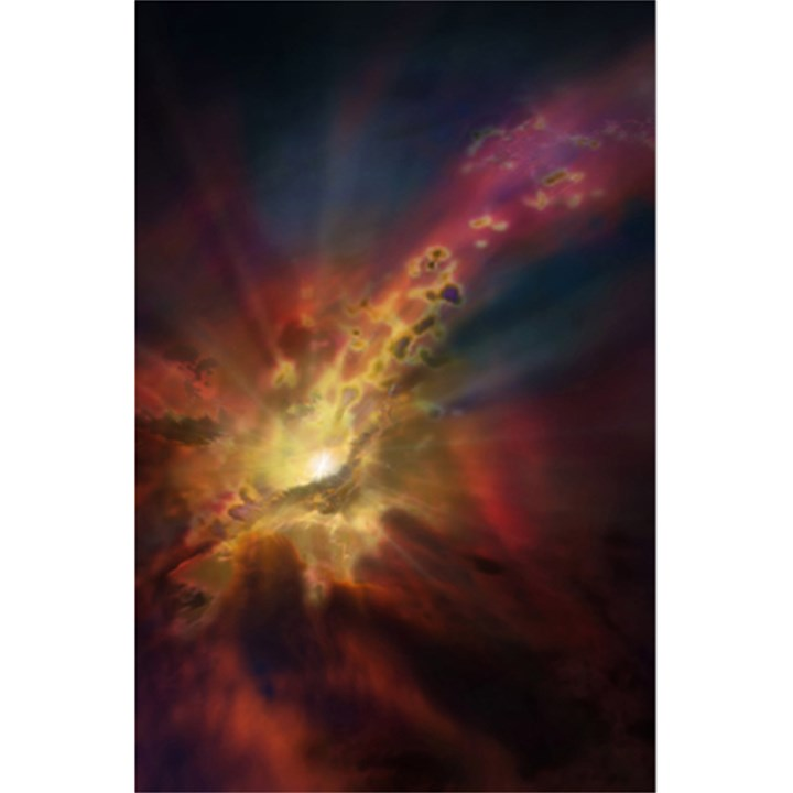 Sun Light Galaxy 5.5  x 8.5  Notebooks