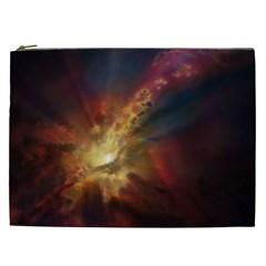 Sun Light Galaxy Cosmetic Bag (xxl)