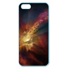 Sun Light Galaxy Apple Seamless Iphone 5 Case (color)