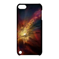 Sun Light Galaxy Apple Ipod Touch 5 Hardshell Case With Stand