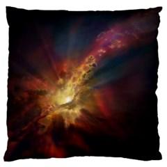 Sun Light Galaxy Standard Flano Cushion Case (one Side)