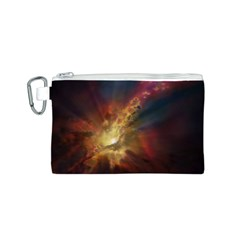 Sun Light Galaxy Canvas Cosmetic Bag (s)