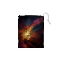 Sun Light Galaxy Drawstring Pouches (xs)