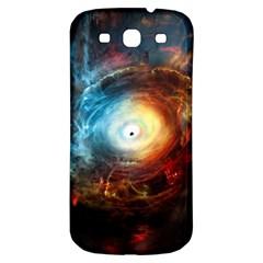 Supermassive Black Hole Galaxy Is Hidden Behind Worldwide Network Samsung Galaxy S3 S Iii Classic Hardshell Back Case
