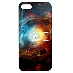 Supermassive Black Hole Galaxy Is Hidden Behind Worldwide Network Apple Iphone 5 Hardshell Case With Stand