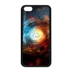 Supermassive Black Hole Galaxy Is Hidden Behind Worldwide Network Apple Iphone 5c Seamless Case (black)