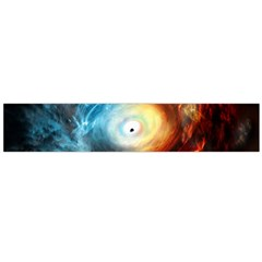 Supermassive Black Hole Galaxy Is Hidden Behind Worldwide Network Flano Scarf (large)