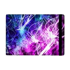 Space Galaxy Purple Blue Apple Ipad Mini Flip Case