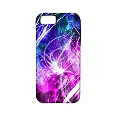 Space Galaxy Purple Blue Apple Iphone 5 Classic Hardshell Case (pc+silicone)