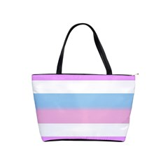 Big Stripes Shoulder Handbags