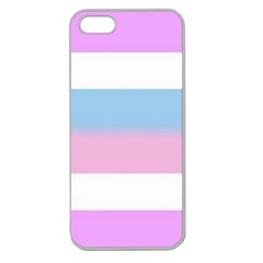 Big Stripes Apple Seamless Iphone 5 Case (clear)
