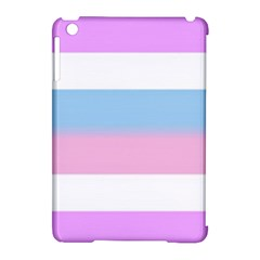 Big Stripes Apple Ipad Mini Hardshell Case (compatible With Smart Cover)