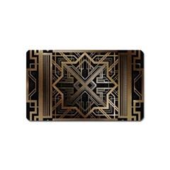 Art Nouveau Magnet (name Card)