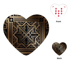 Art Nouveau Playing Cards (heart)