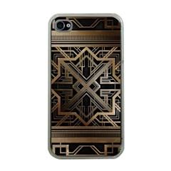 Art Nouveau Apple Iphone 4 Case (clear)