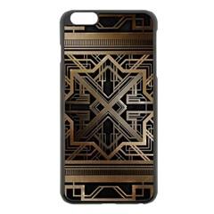 Art Nouveau Apple Iphone 6 Plus/6s Plus Black Enamel Case