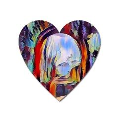 Abstract Tunnel Heart Magnet